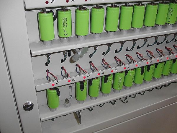 selektieren / matchen von NiMH oder Lithium Akkuzellen pro Stck.