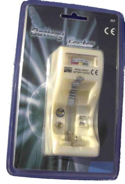 Batterietester Typ 321