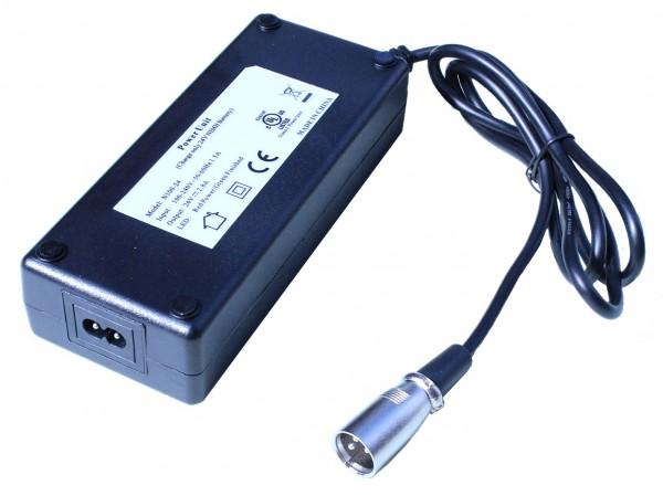 24V 2,8A Ladegerät für NiMH / NiCd Akkus von 5 - 15AH