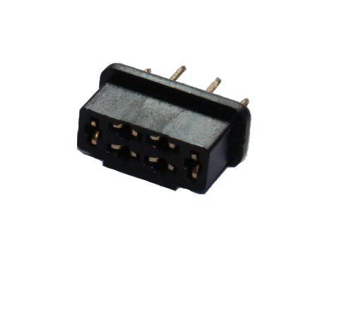 HSTR wie MPX Stecker schwarz