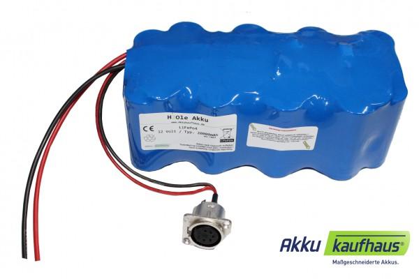 Kühlboxakku 12V (13.2V) LiFePo4 250Wh inkl. Ladegerät inkl. Zig.anschluß, f. Kühlbox