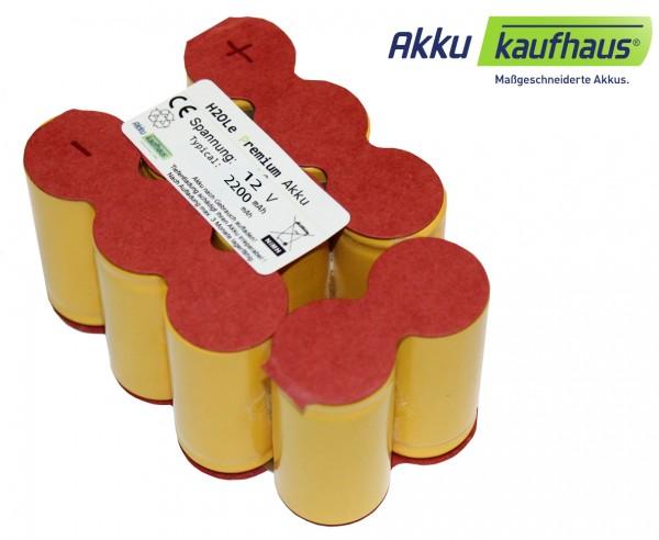 12V 2200mAh NiMH Akkueinsatz zum Selbsteinbauen für Fein-Akkugehäuse