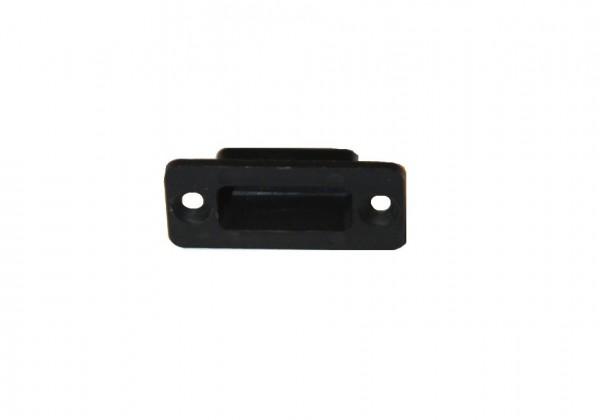MPX Halter schwarz Rahmen