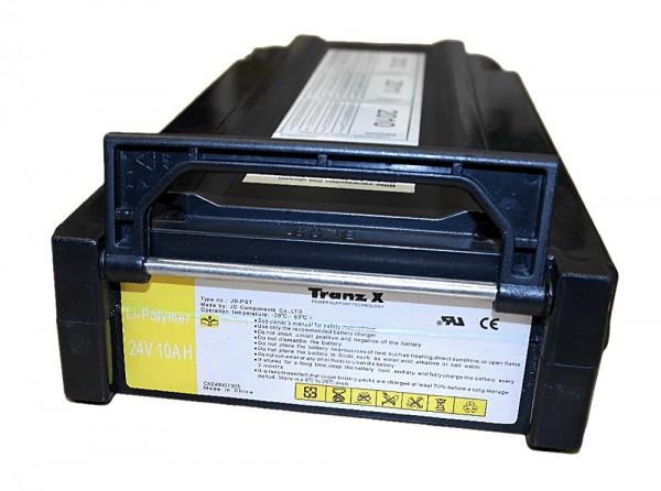 TranzX 24V / 10AH Pedelec Lithiumakku LiMn inkl. Einbau in Ihr Gehäuse JD-PST BL03