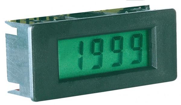 LCD-Einbaumodul Spannungsmeßgerät, 8mm, mit Beleuchtung