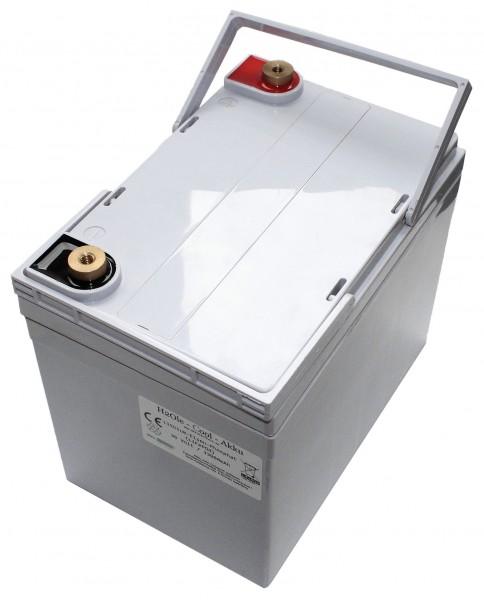 Leichtgewicht dank Lithium 12V / 33AH ( 45AH ) LiFePo4 - Akku inkl. 40A PCM + Ladegerät