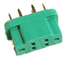 MPX HSTR -Stecker, verpolungssicher (Metall ist Buchse)