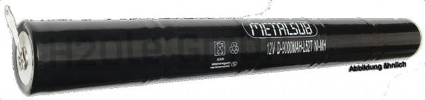 2 Stck. 6 Volt / 9Ah NiMH Akku für MetalSub Tanklampe 5i