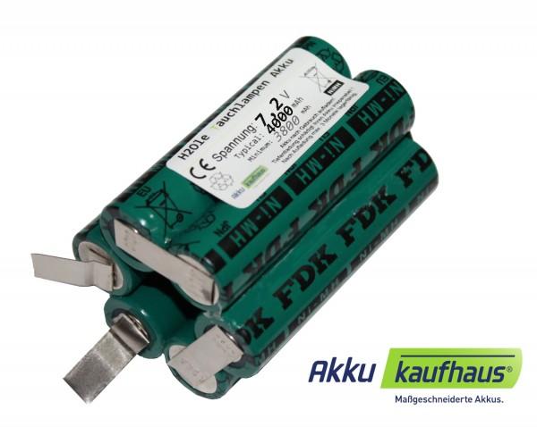 Sanyo Akku für Mini compact 7,2 Volt 4000mAh NiMH im Zylinderformat (4/3A)