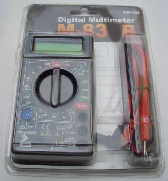 Multimeter zur Spannungsmessung, Strommessung etc.