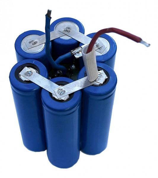 H2Ole LiMn Akku f. Hartenberger Mini compact 7,2 Volt 5.4AH / 6.7AH im Zylinderformat inkl. Einbau
