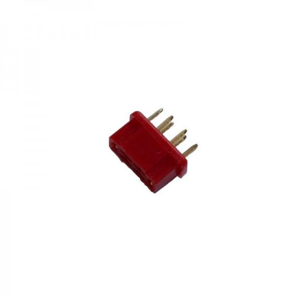 HSTR wie MPX Stecker rot
