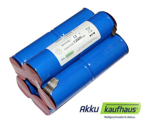 Akku für Hartenberger 125 compact, 125 prof., Tank 125 professional 12 Volt NiMH 12Ah 2i5nz (Mono)