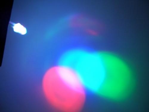 superhelle Rainbow -Jump Led, 5mm