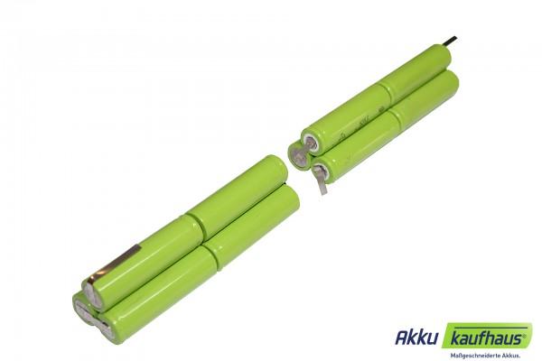 NiMH Akku für Hartenberger Wrack maxi 14,4V 4000mAh NiMH 2 x 2i3nz (4/3A)
