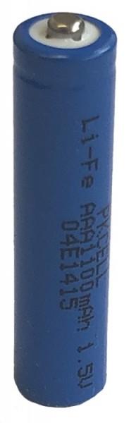 4 Stck. Microbatterien Typ AAA, Einwegbatterie >1200mAh / >1600mWh