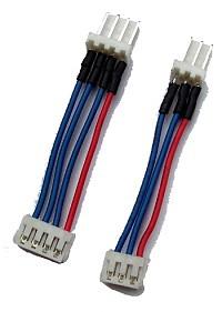 Balanceradapterkabel von Molex auf JST für 2s und 3s Akkupacks