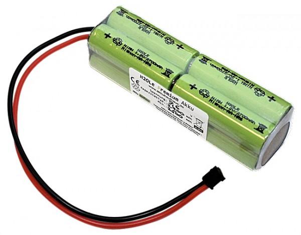 9,6V 2700mAh Senderakku für z.B. Graupner Typ 8N-2000TX