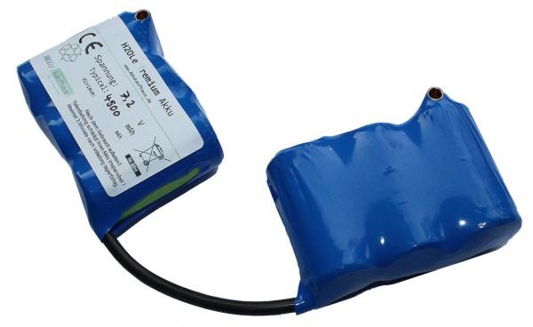 7,2 Volt / 4500mAh SCR NiMH - Saddlepack (pag)