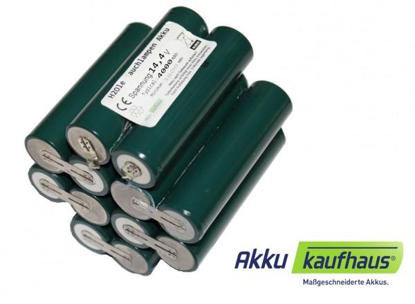 NiMH Akku für Hartenberger mega compact, D2 14,4V 4500mAh inkl. Einbau