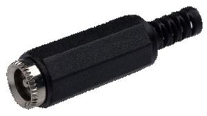 Hohlbuchse 5.5mm/2.1mm (für Hohlstecker 5.5mm/2.1mm)