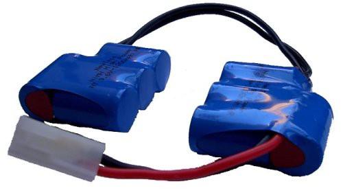 9,6 V NT - 1300mAh AR Saddlepack 6-punktgeschweißt, 4*4 Anordnung 1.5qmm 3n1s