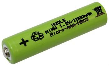 NiMH - Microakku 1000mAh AAA (Typ AAA)