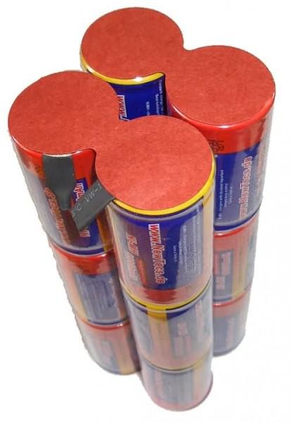 14,4 Volt 10000mAh NIMH Akku im Zylinderformat (Mono) 4n3i von H2Ole