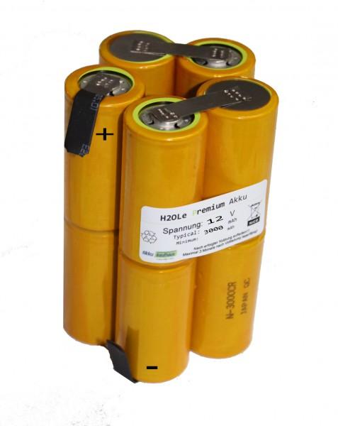 Panasonic(Sanyo) Akku für Kowalski speed 1250 und Classic 1250 / NiCd 12V 3000mAh 2i5nz (Baby/Typ-C)