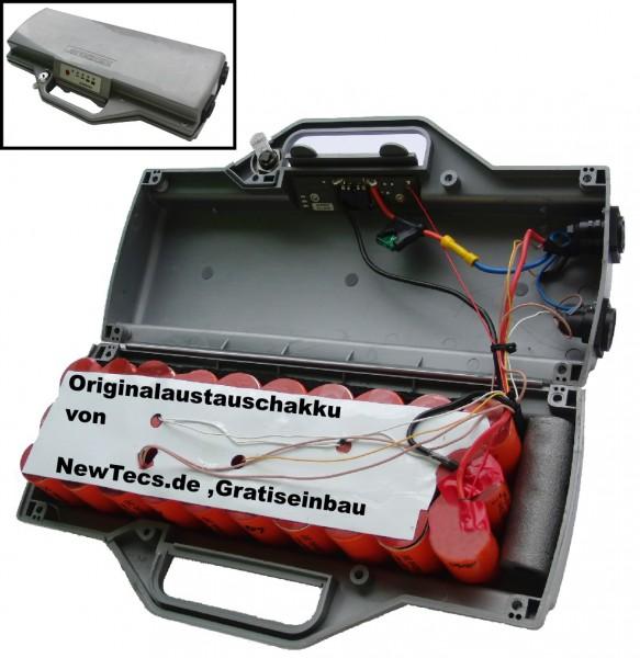 36V Lithium 12AH Ebike Akku (LiFePo4) inkl. Ladegerät für Heinzmann Pedelecs mit neuer Ladezustands