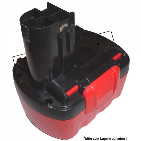 14,4V NiMH Akku 3900mAh für Bosch Akkuschrauber inklusive neuem Gehäuse