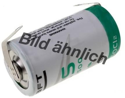 14250 3,6 Volt / 1100mAh Batterie Lithium H2OLE Abm ähnlich LS14250 STS 1/2AA