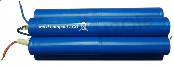Premium - Lithiumakku ( LiMn ) für Hartenberger maxi compact LCD 14,4V 6750mAh 2i6nz 4s3p