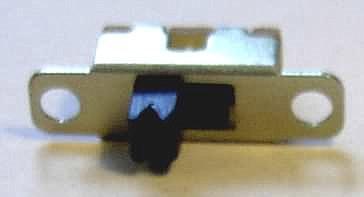 Miniaturschiebeschalter für den Innenbereich