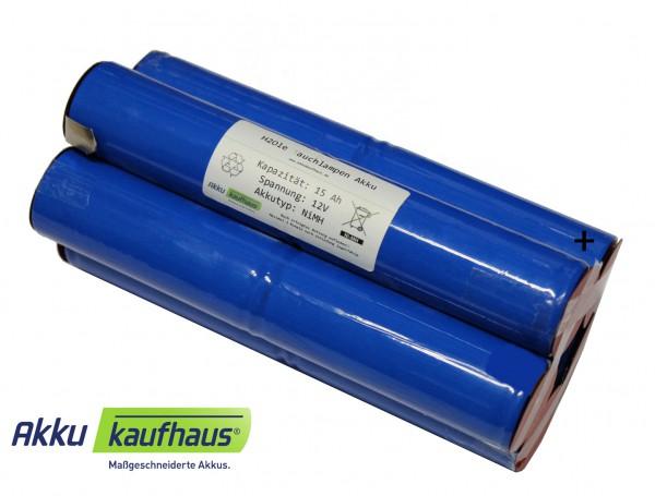 Akku für Hartenberger 128 compact, 128 professional, Tank 128 professional 12 Volt NiMH 15Ah 2i5nz